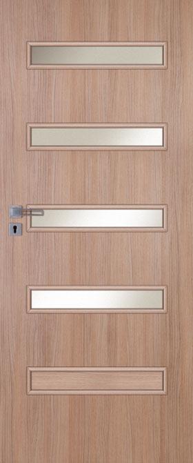 Presklené dvere Inter-Amber E04