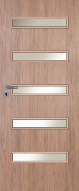 Presklené dvere Inter-Amber E05
