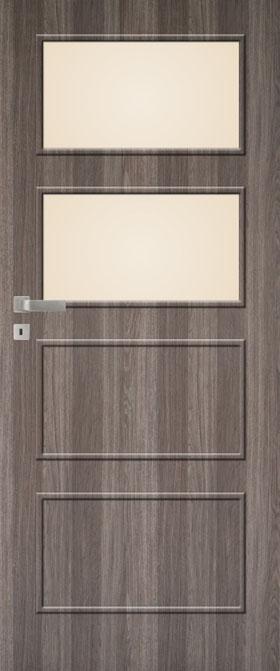 Presklené dvere Impuls W08 B2