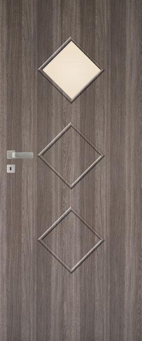 Presklené dvere Impuls W14 C1