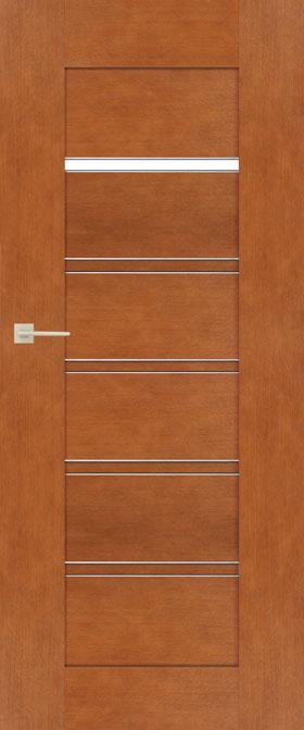 Presklené dvere Sempre Alu