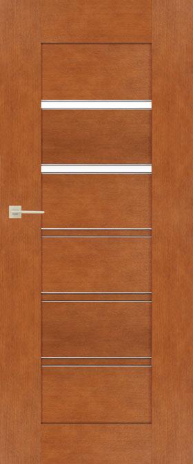 Presklené dvere Sempre Lux Alu