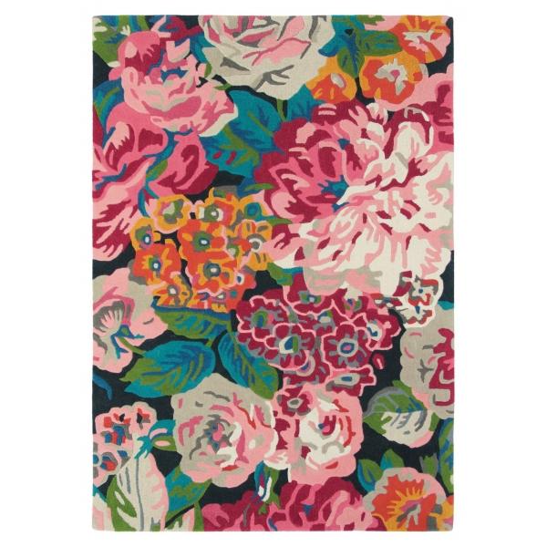 Koberce Rose & peony cerise 45005